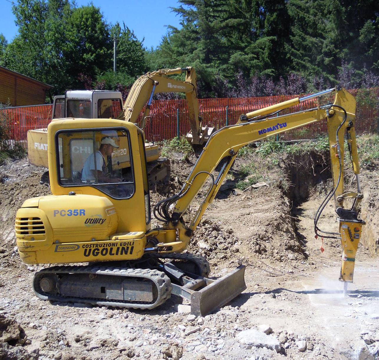Impresa edile Ugolini - Movimento terra e demolizioni